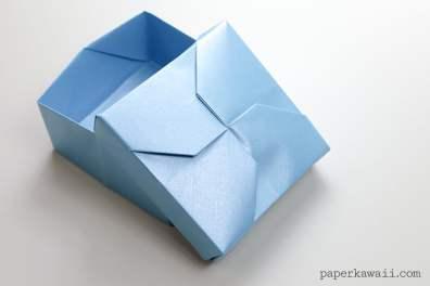 Modular Origami Masu Box Lid – 'Twist'