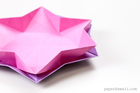 Learn how to make a six sided origami star dish or bowl with these simple origami instructions, this origami is made from one sheet of hexagonal paper, which I'll show you how to make easily - https://www.youtube.com/watch?v=LGLSUFJph6c - #origami #tutorial #instructions #hexagon #dish #bowl #container #howto #origamidish #star #origamistar - read more..