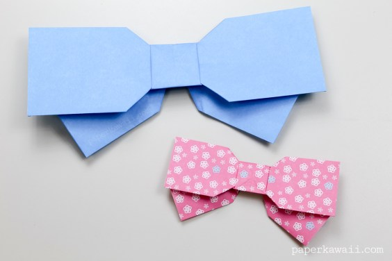 How to Fold an Origami Bow Tie | 376x564