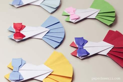 Origami Corset / Bodice Instructions via @paper_kawaii