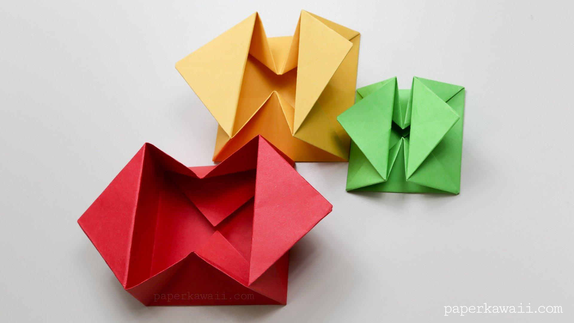 Origami Envelope Box Instructions - Paper Kawaii - photo#10