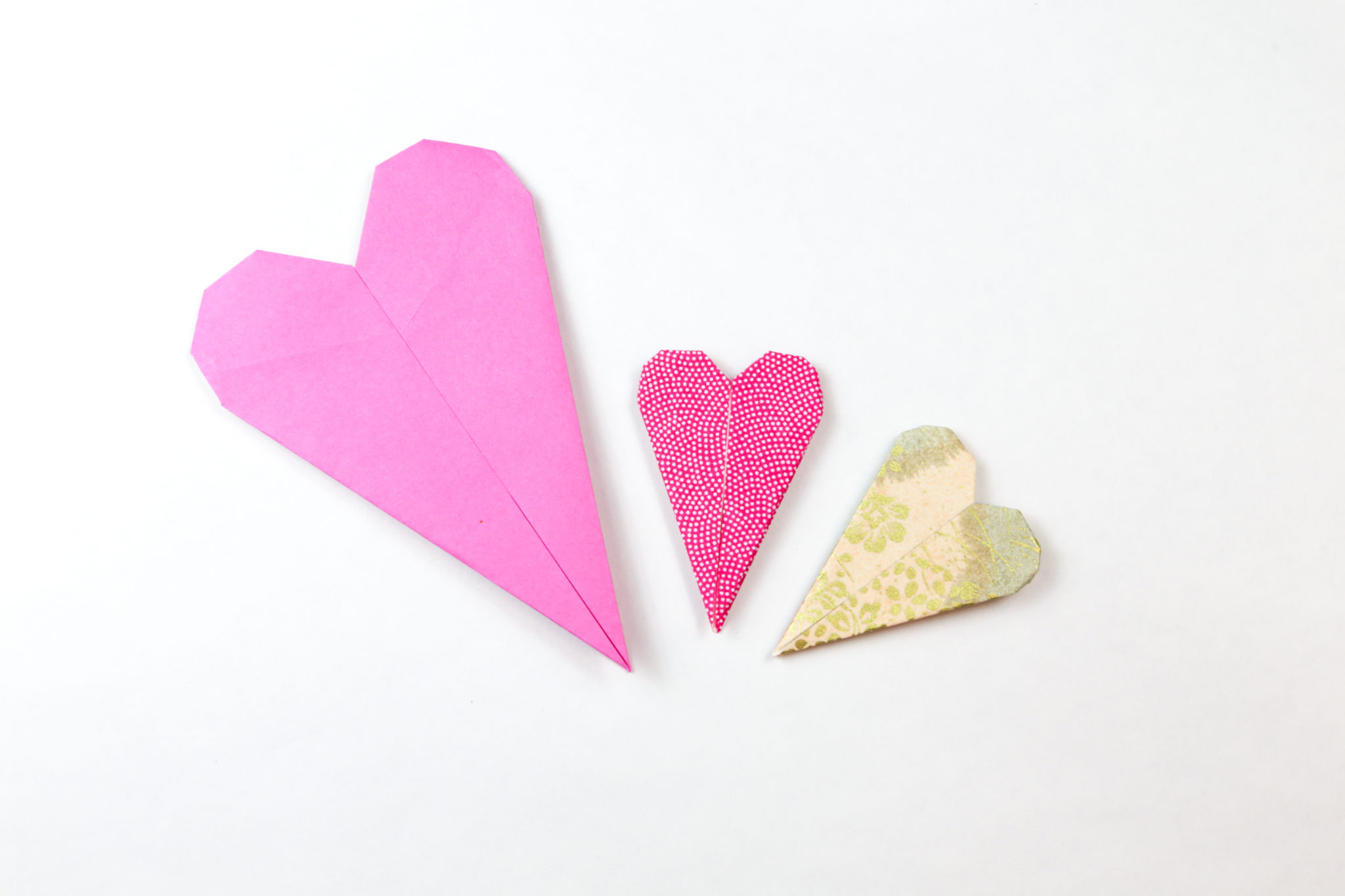 Thin Origami Heart Instructions Paper Kawaii Science Fiction Diagrams
