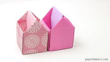 Origami Toolbox / Pen Pot Instructions via @paper_kawaii
