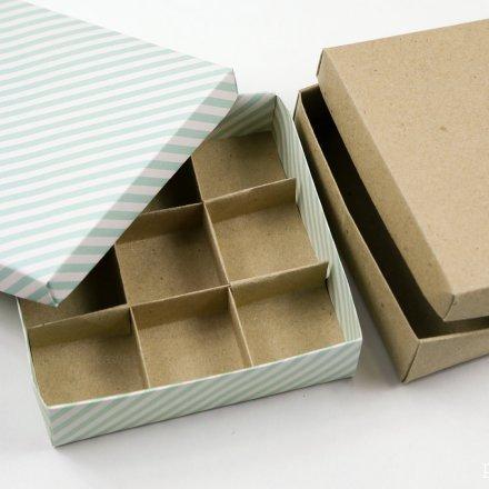 9 Section Origami Box Divider Instructions via @paper_kawaii