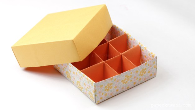 Origami 9 Section Box Divider – Tall Version