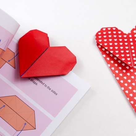 15 Origami Hearts – Housing a Forest | 440x440