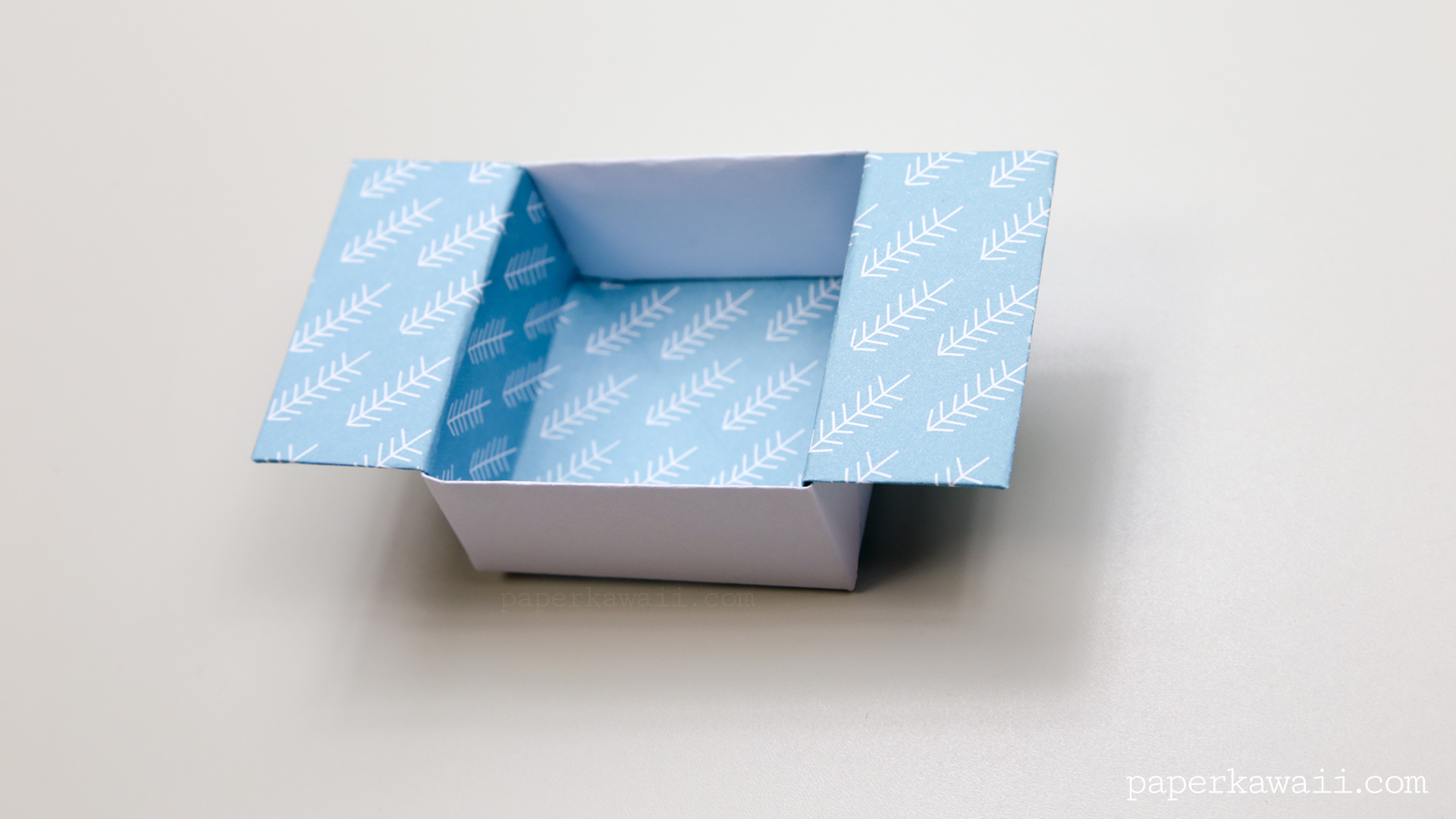 Origami Open Box Instructions - Paper Kawaii - photo#8