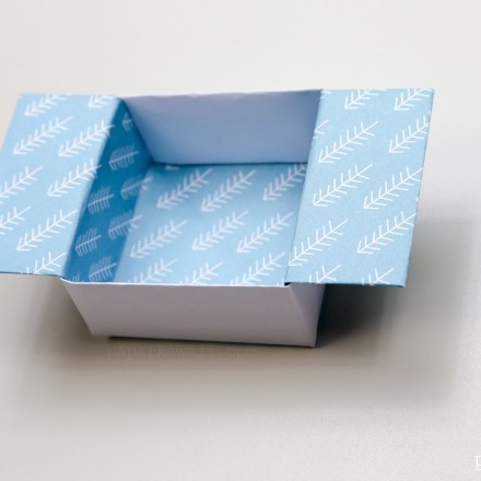 9 Section Origami Box Divider Instructions via @paper_kawaii
