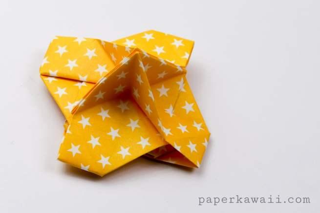 Origami Card Holder Instructions via @paper_kawaii