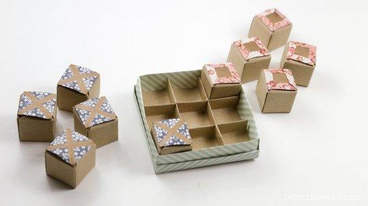 Origami Tic Tac Toe Game