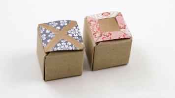 Origami Tic-Tac-Toe Game Instructions via @paper_kawaii