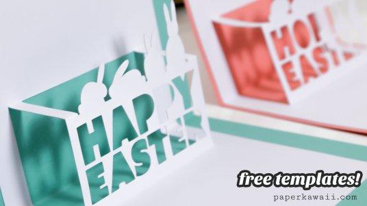 Cricut Explore Air Review & Free Easter Pop-Up Card