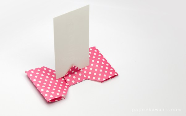 Origami Bow Folding Instructions | 376x602