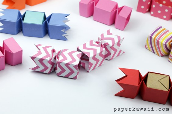 Origami Candy Box – Opening Version Tutorial
