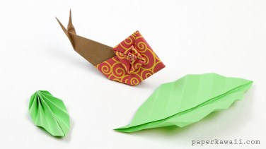 origami-snail-with-leaves-paper-kawaii-01