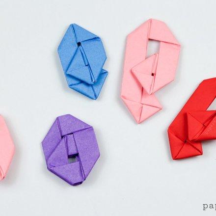 Origami Paperclip Tutorial - Paper Kawaii