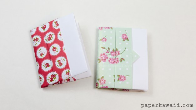 Origami Card Wallet Tutorial