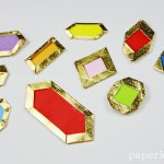 How to make Origami Jewels & Gemstones