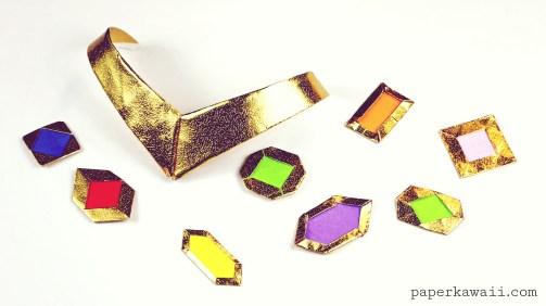 How to make Origami Jewels & Gemstones via @paper_kawaii