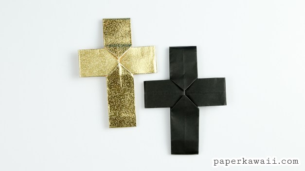 Easy Origami Cross Tutorial