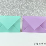 Simple Origami Envelope Video Tutorial