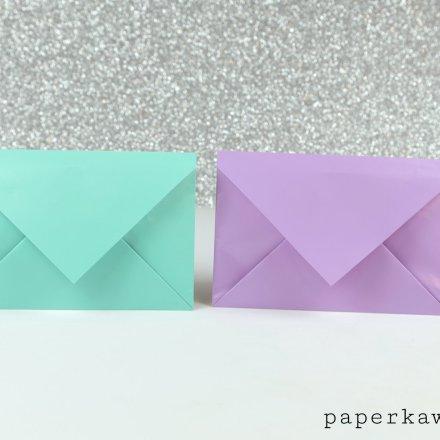 Traditional Origami Envelope Video Tutorial via @paper_kawaii