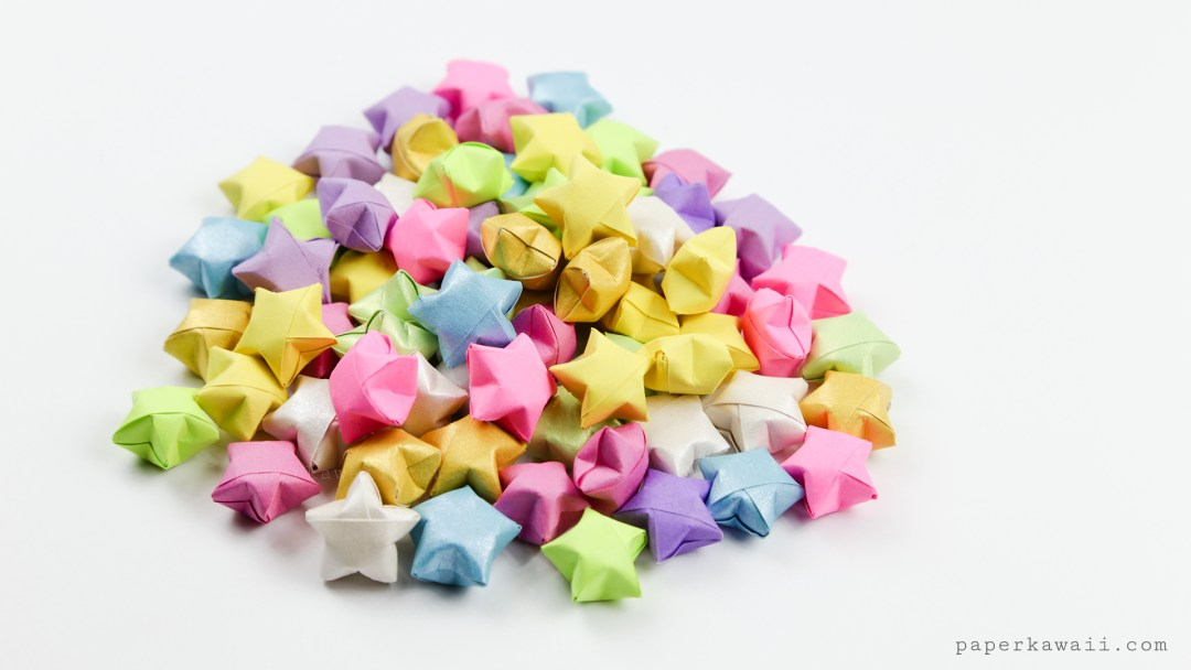 Origami Lucky Stars Tutorial - Easy & Fun!