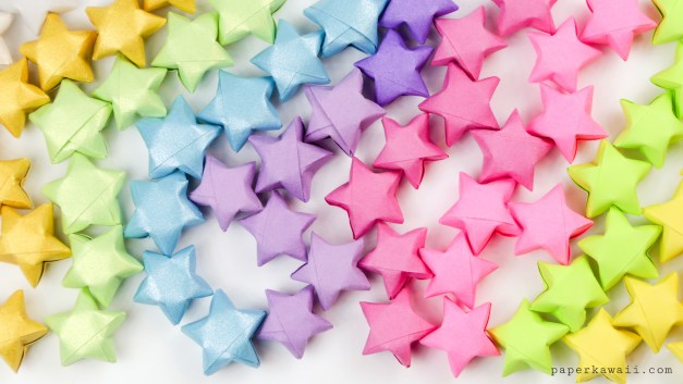 Origami Lucky Stars Tutorial – Easy & Fun!