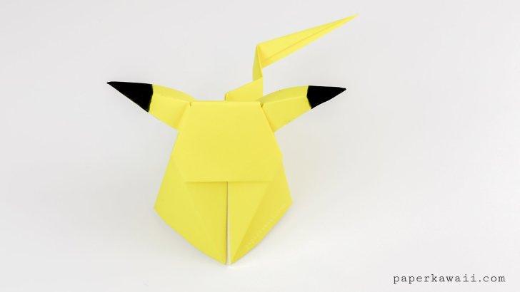 origami pikachu tutorial cute origami pokemon paper