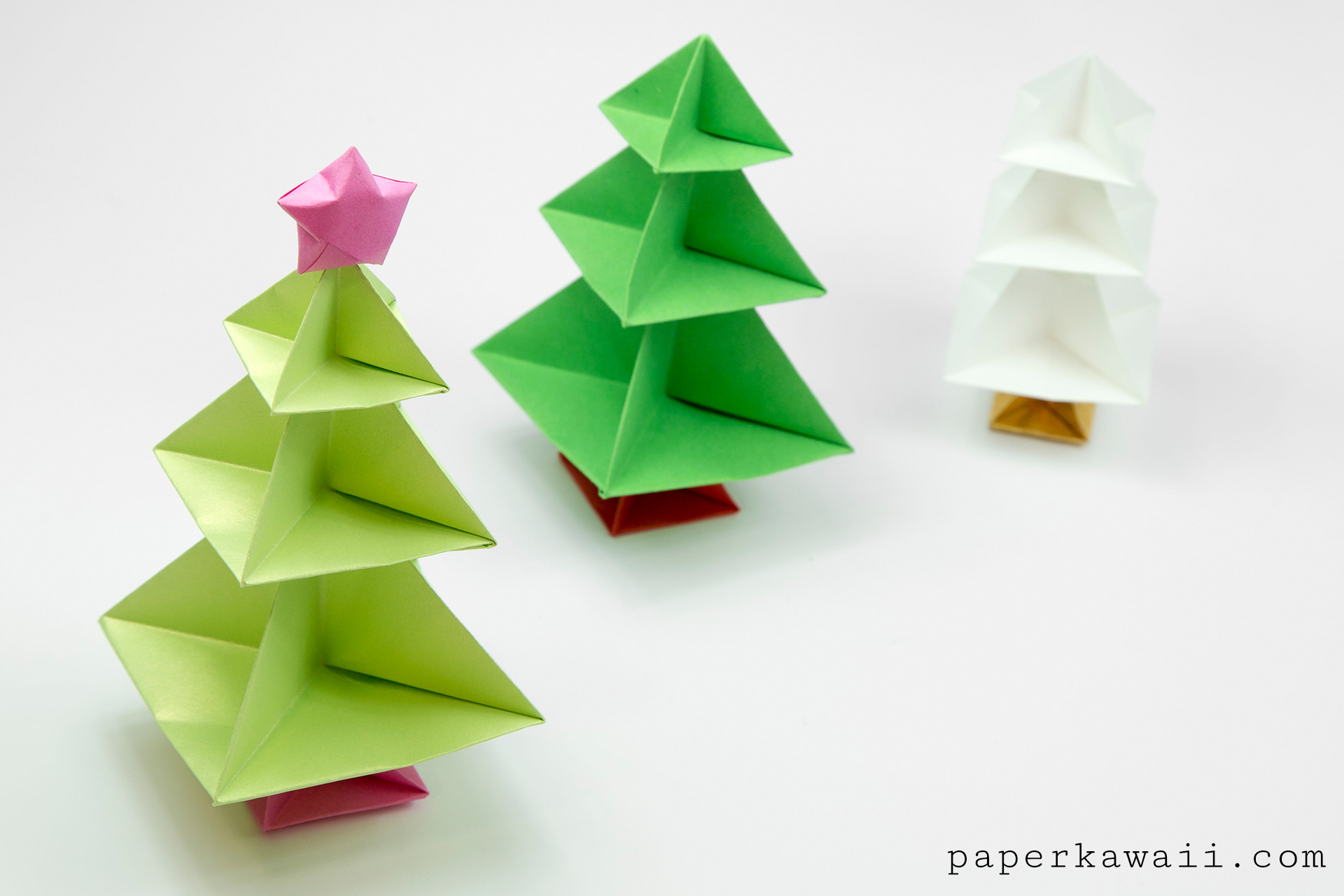 Image result for origami christmas tree decorations. | Paper ... | 1280x1920