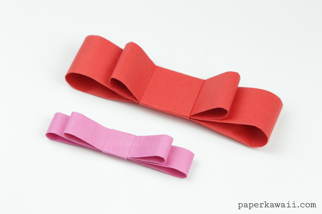 Origami Layered Bow Tutorial - Cute Gift Wrapping Decoration via @paper_kawaii