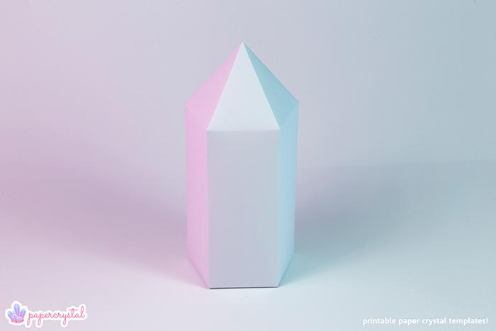 printable paper gems  u0026 crystal templates