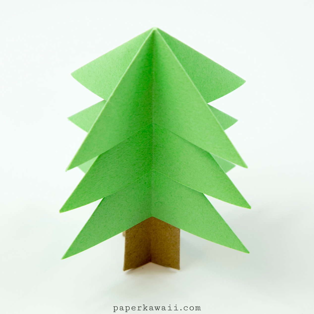 Easy Origami Christmas Tree Tutorial Check Out My Paper Recommendations For More Information On Where I Get And Also Ideas Money Saving Tips