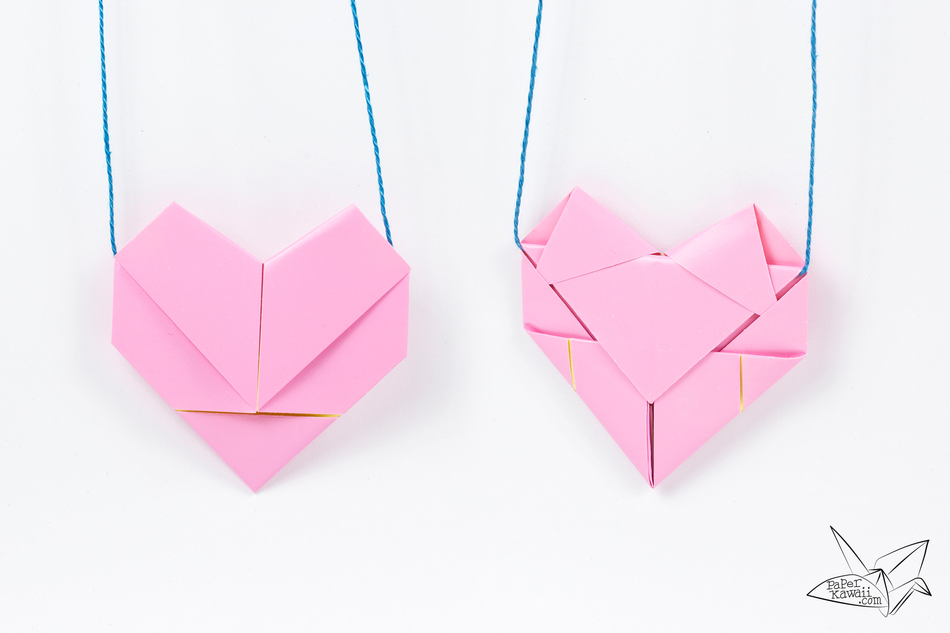 How to Make an Origami Heart with Wings | Free Printable ... | 1280x1920
