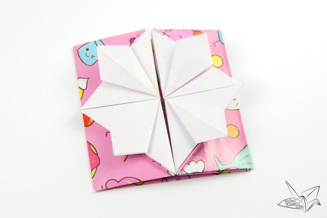 Origami Popup Envelope Box Tutorial