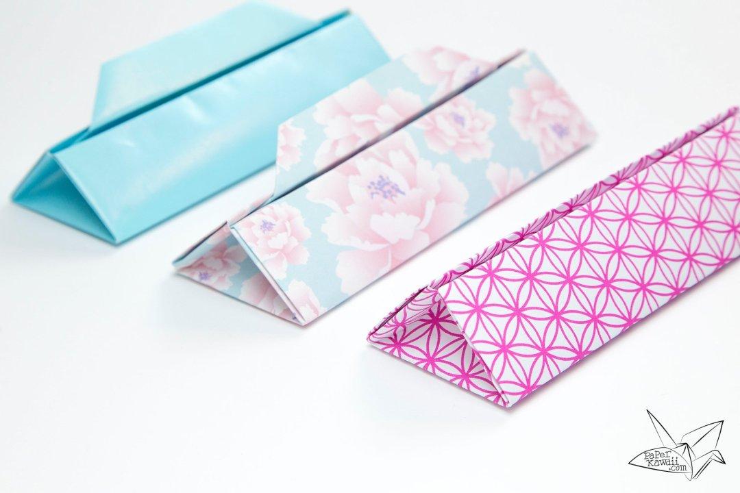 Triangular Origami Box Tutorial - Gift Box