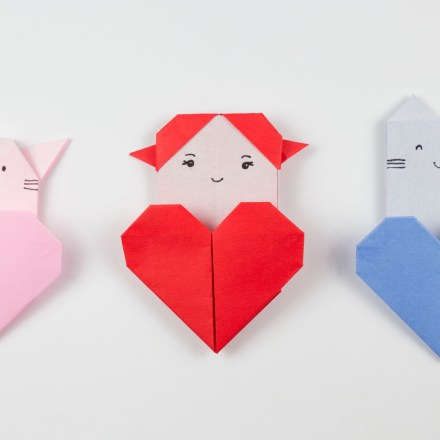 Paper Weaved Valentines Heart Tutorial via @paper_kawaii