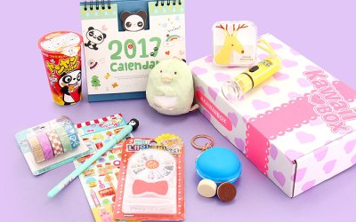 [ENDED] Kawaii Box Giveaway – Win Cute Items from Japan & Korea!