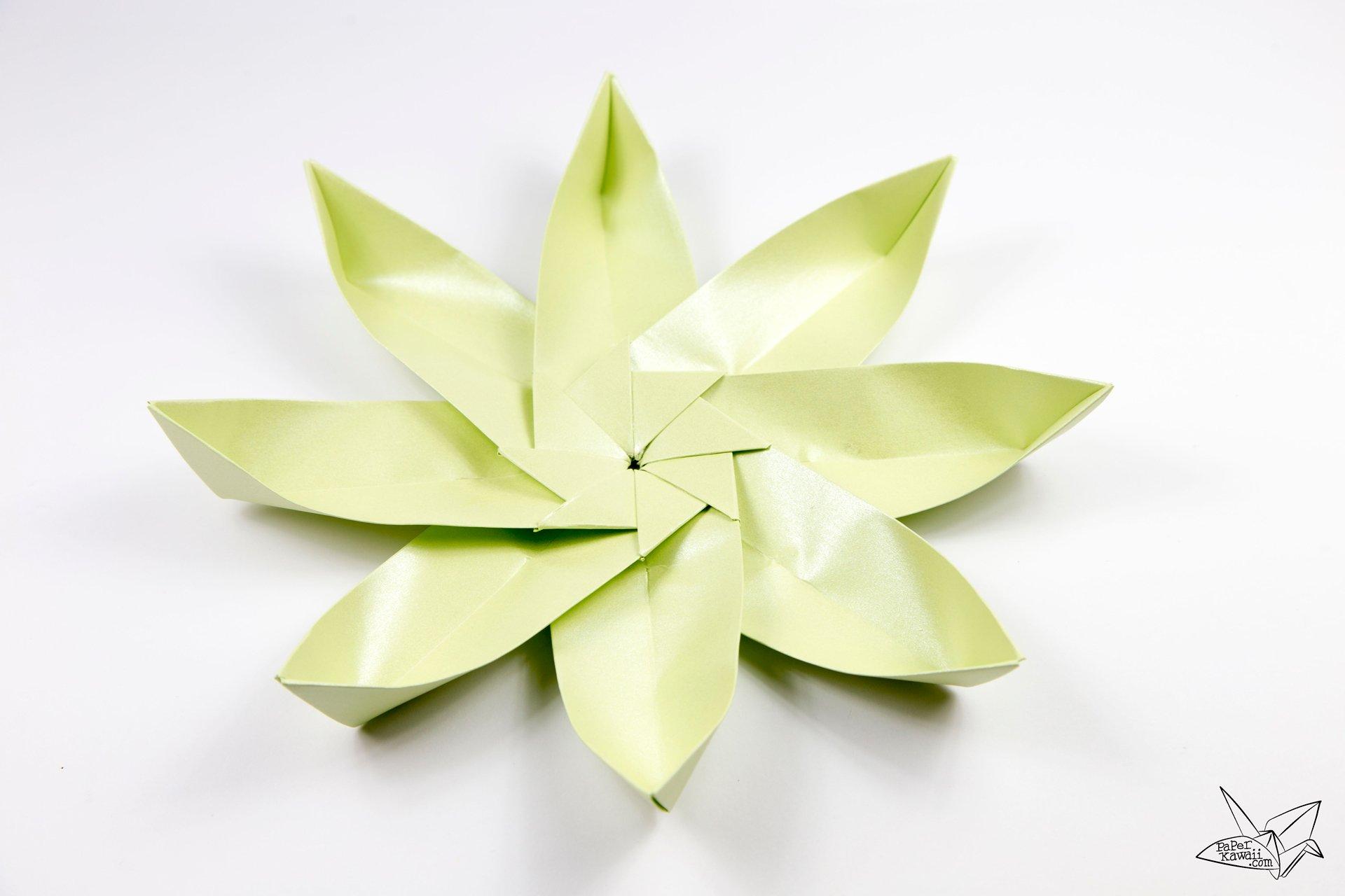 Paper Lotus Flower Demirediffusion