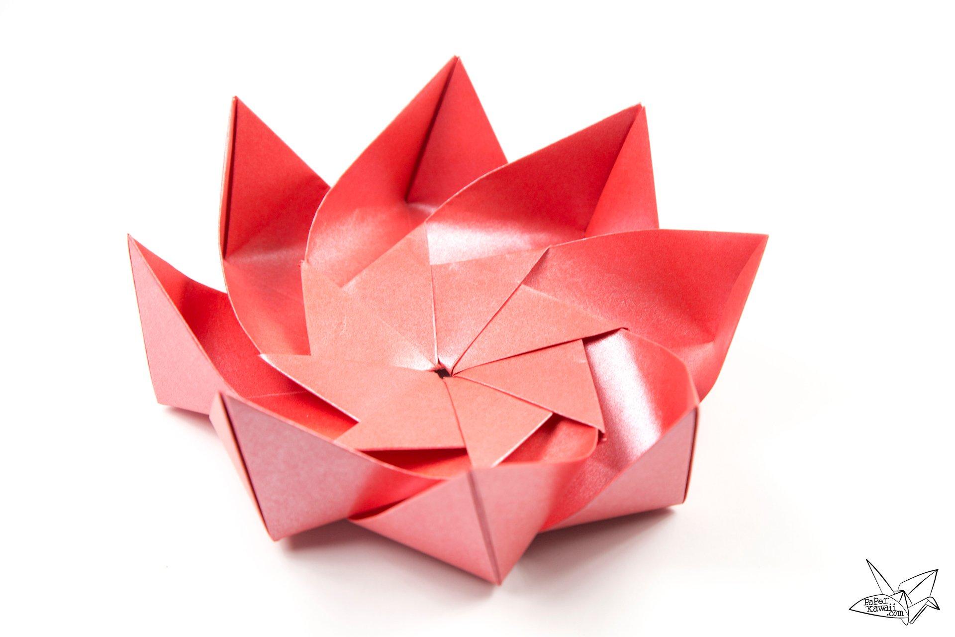 Origami Lotus Box Diagram Electrical Work Wiring Diagram