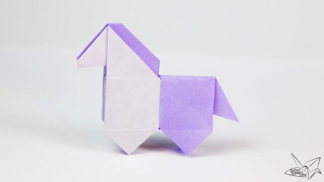 Origami Horse Tutorial