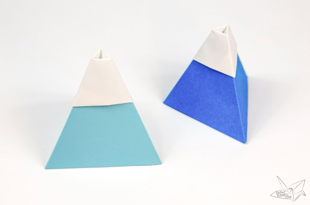 Origami Mount Fuji Tutorial!