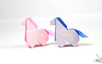Origami Horse Tutorial – Version 2 – Origami Pony
