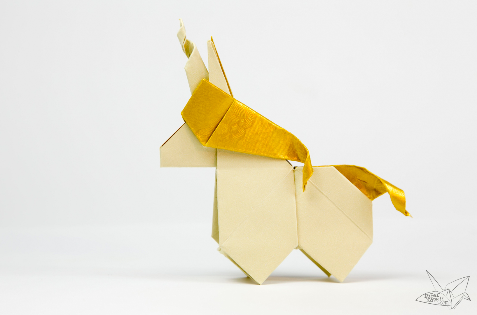 Origami Unicorn Tutorial - Paper Kawaii - photo#42