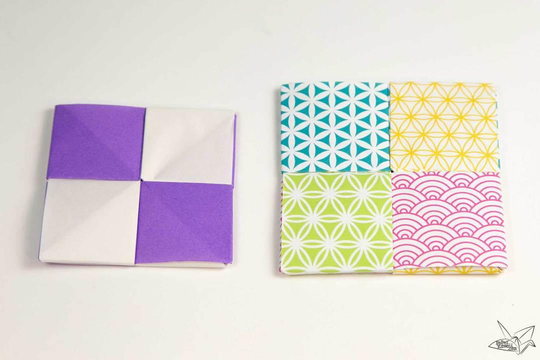 Modular Origami Coaster Tutorial