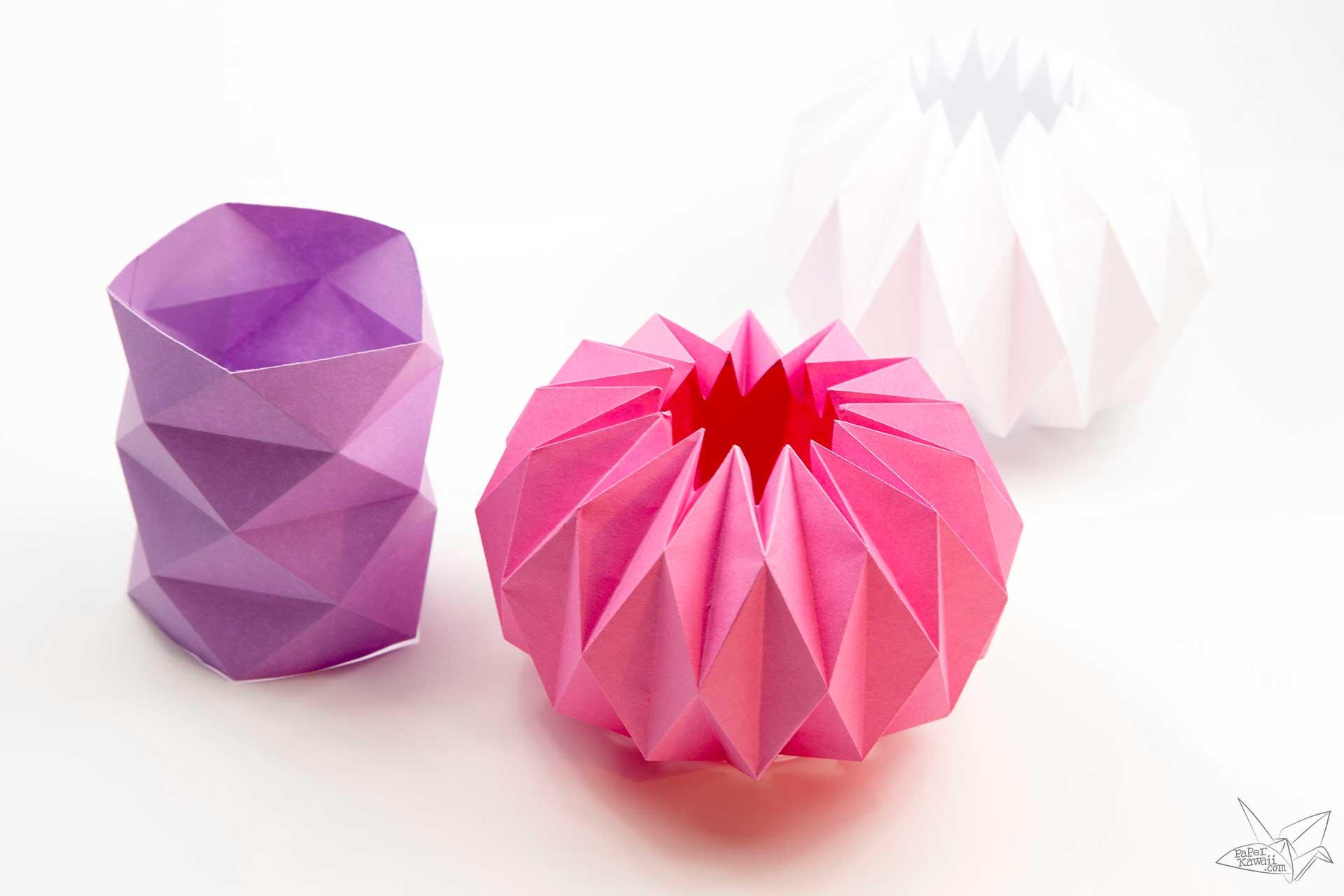 Folded Paper Flower Tutorial Kubreforic