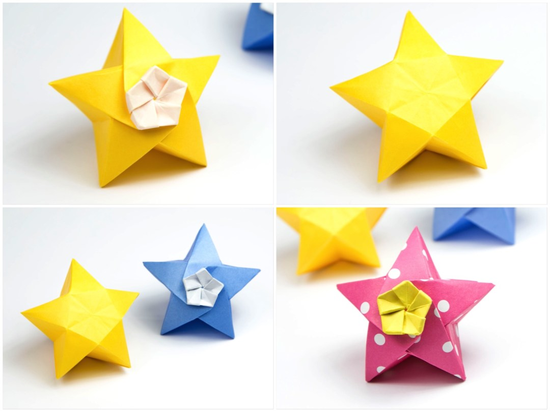 Origami Twinkle Star Tutorial - Puffy Stars - Paper Kawaii - photo#47