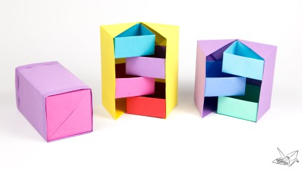 Origami Secret Stepper Box Tutorial