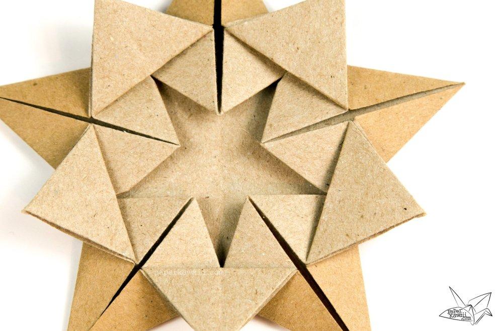 Origami 'Star Within' Tutorial - Ali Bahmani via @paper_kawaii