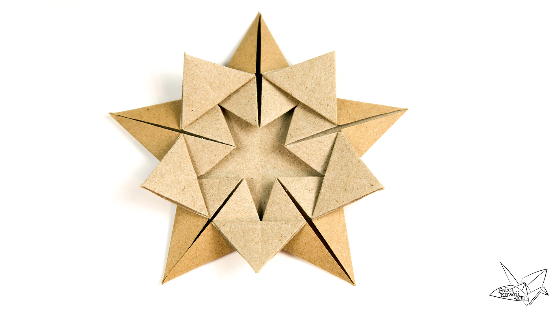 origami star within tutorial ali bahmani paper kawaii